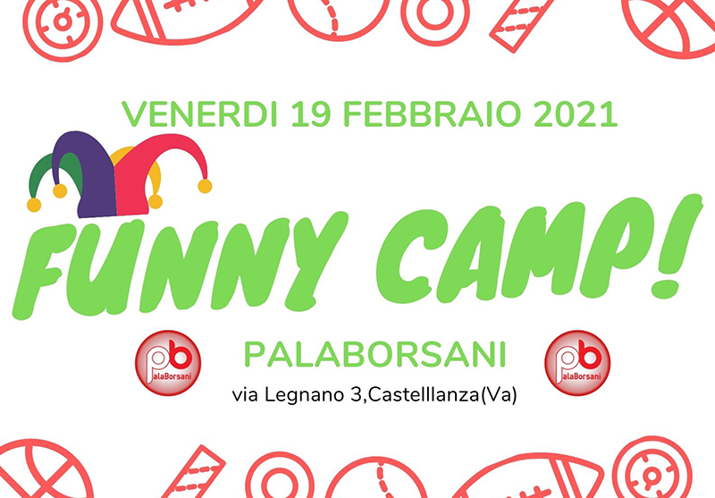 Funny Camp nel weekend di Carnevale post thumbnail image